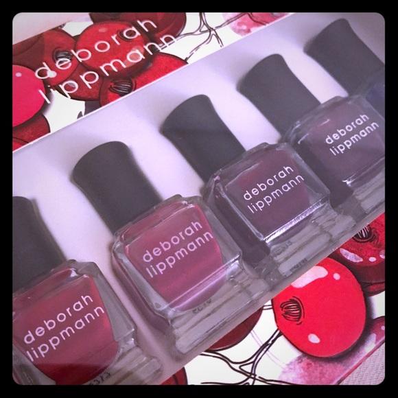 Sephora Makeup Nib Deborah Lippmann Nail Polish Shades Of Red